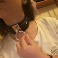 New Sexy Women Fashion Wide PU Leather O Ring Collar Choker Necklace Jewelry