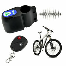 Bicycle Bike Anti-Theft Security Alarm Lock Sound Alert with Remote Control