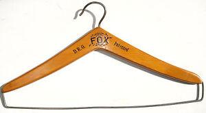 Bügel Holz alt Steg FOX Fuchsmantel Pelz Jacke Mantel Vintage 30er 40er