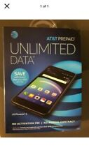 """New !AT&T LG Phoenix 4 16GB Screen 5""""Only AT&T New ACC Or Upgrade Old Phone"""