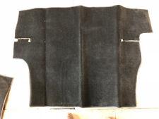 Triumph Herald & Vitesse Black Boot (Trunk) Carpet