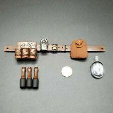 """1:6 Hasbro WWII Russian Infantry Belt Grenade Pouch Set 12"""" GI Joe Dragon BBI"""