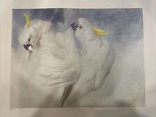 Raymond Ching Sulphur-Crested Cockatoos Limited Edition Print Signed
