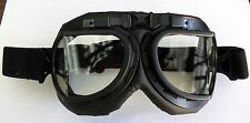 Brille Pilotenbrille Fliegerbrille Royal Air Force Style Goggles Schutzbrille Bl