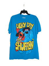 Elmo Every Day Shufflin T-shirt Size Medium Nwot Cookie Monster