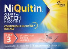 NiQuitin Clear 7 mg 7 Patches - Step 3