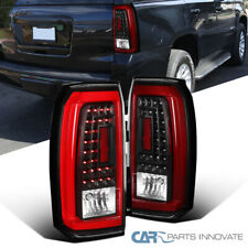 For GMC 15-18 Yukon XL SLE/SET Red LED Rear Tail Lights Left+Right Brake Lamps