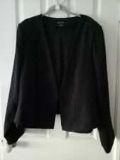 City Chic Hand-wash Only Solid Coats, Jackets & Vests for Women