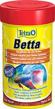 Tetra Betta 100ml Spezialfutter für Kampffische Betafutter Labyrinthfische