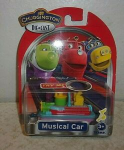 Chuggington Die-Cast - Musical Car - New in Package