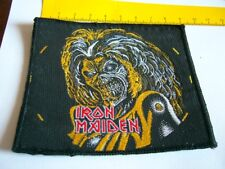 IRON MAIDEN – very rare old original 80s KILLERS, UNCUT Patch!!!