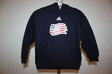 New- Adidas New England Revolution Toddlers size 2T Navy Blue Hoodie