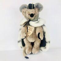 HERMANN 1997 Mohair Teddy Bear MOUSE KING NUTCRACKER SUITE Ltd Ed w/TAGS Germany