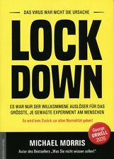 LOCK DOWN (Buch) Michael Morris, NWO, George Orwell 2020