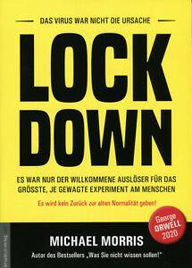 LOCK DOWN (Buch) Michael Morris, NWO George Orwell 2021