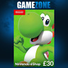 Nintendo e-Shop £30 Card Code - £30 GBP UK Nintendo eShop Switch 3DS/DS/Wii U
