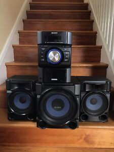 SONY MHC-EC909iP, Ipod, HI-FI Component AM/FM CD Stereo System with Subwoofer