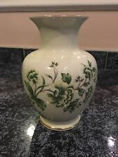 Pretty Vintage Hollohaza Porcelain 30 Hungary 1831 Flowers Vase Mint Condition