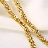 Chaîne de diamant cubain en or 18 carats chaîne lien hommes collier cadeau