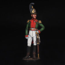 Tin Soldier, Colonel of the Life Guard Dragoon Regiment. Russia, 1810-15, 54 mm