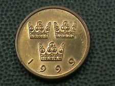 SWEDEN   50 Ore   1999   COMBINED SHIPPING  .10 Cents USA  .29 INTERNATIONAL