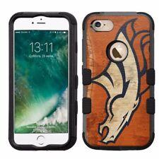 for Apple iPhone 8 Impact Armor Rugged Hard Hybrid Case Denver Broncos #O
