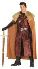 Mens Adult Highlands Lord Northern Medieval Fancy Dress Costume Outfit M-XL