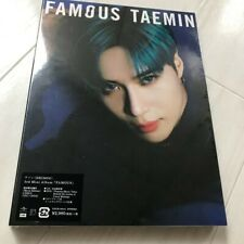 "TAEMIN (SHINee) ""FAMOUS"" JAPAN (CD+DVD) Type B UPCH-29341 *SEALED*"
