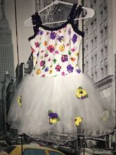 Curtain Call Dance, Pageant Dance Ballet Costume With Flower Accents Sassy L
