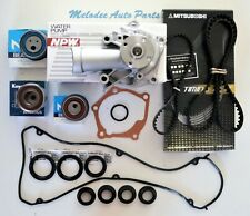 Water Pump & Timing Belt Kit for 07-12 Mitsubishi Eclipse / Galant 2.4L.