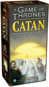A Game of Thrones Catan Brotherhood of the Watch 5-6 Players Expansion