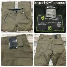 Ride Snowboards Pants Men's Size Small (Inseam 30) Brown
