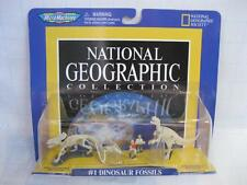 VTG MICRO MACHINES Galoob NATIONAL GEOGRAPHIC DINOSAUR FOSSILS 1 new SEALED