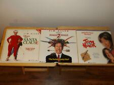 LOT OF 3 TIM ALLEN DISNEY MOVIES Laserdisc SANTA CLAUSE JUNGLE 2 NEAR MINT COND