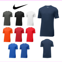 NIKE DRI FIT, WICKING, SHORT SLEEVE, COTTON/POLY CREW NECK, T-SHIRT