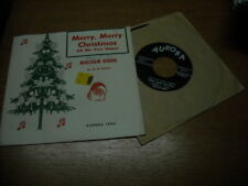 CHRISTMAS 45,  MALCOLM TODDS.  MERRY MERRY XMAS  /  PERFECT STRANGERS.