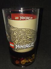 LEGO NINJAGO CUP WITH 13 LOOSE LEGO PIECES INSIDE
