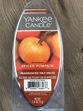 Yankee Candle Spiced Pumpkin 6 Ct 2.6oz Holiday Fragranced Wax Melts