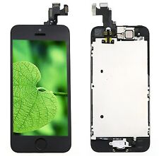 For iPhone 5S Complete LCD Display Touch Screen Digitizer Camera Button New MKHK