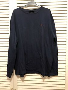 Polo Ralph Lauren Mens Long Sleeves Crew Neck Tee Size L
