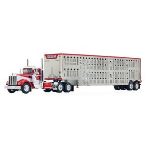 1/64 DCP KOPPES Kenworth® W900A Day Cab & Wilson® Silverstar® Livestock Trailer