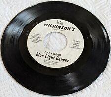 Gary Gear 'Cheatin Last Forever / Blue Light Dancer' 45 RPM Wilkinson's Records