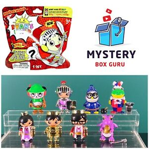 Ryan's World Mystery Figures: Royal Complete Set Of 8!