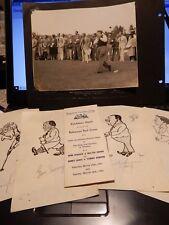 BAHAMAS COUNTRY CLUB NASSAU GOLF HISTORY 1941 ROYALTY SARAZEN HAGEN ARMOUR aSIGN