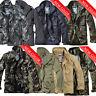 Brandit M65 2in1 Herren Jacke Winter Jacke Parka Army Militär Bundeswehr Camo