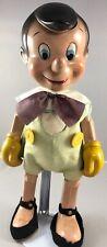 "14"" Antique American Composition Walt Disney's Pinocchio Doll! 18219"