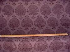 18+Y Kravet Lee Jofa Purple Arabesque Paisley Printed Linen Upholstery Fabric