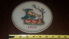 """Mj Hummel Goebel 1979 , 9th Annual """"Singing Lesson"""" Collector Plate #272"""