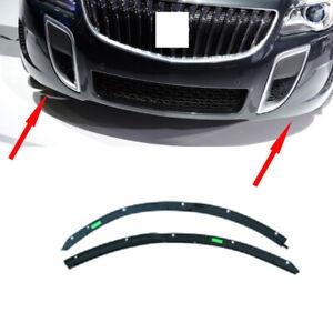 For Buick Regal GS 2011-2016 Car Front Bumper Lower Black Rubber Strip Frame