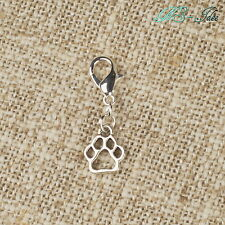 Anhänger Hundpfote Pendant Charm Bettelarmband Schlüsselanhänger